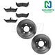 1ABFS01844-2004-08 Chrysler Pacifica Brake Kit