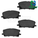 1ABPS00833-Lexus RX330 RX350 RX400h Brake Pads Front  Nakamoto CD1005