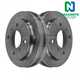 1ABDS00294-2000-06 Nissan Sentra Brake Drum Rear Pair  Nakamoto 80093