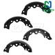 1ABPS00835-Nissan Sentra Brake Shoes Rear
