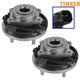 TKSHS00775-Wheel Bearing & Hub Assembly Rear Pair  Timken HA590317