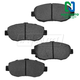 1ABPS00841-Brake Pads Front  Nakamoto CD619