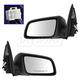 1AMRP01452-Chevy Caprice Pontiac G8 Mirror Pair