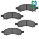 1ABPS00849-Brake Pads Front