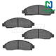1ABPS00840-Brake Pads Front