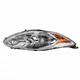 1ALHL02391-2011-13 Ford Fiesta Headlight