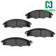 1ABPS00843-2008-11 Ford Focus Brake Pads Front  Nakamoto CD1339