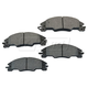 1ABPS00844-2008-11 Ford Focus Brake Pads Front