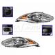 1ALHP01173-2011-13 Ford Fiesta Headlight Pair