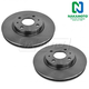 1ABFS01881-2008-11 Ford Focus Brake Rotor Pair  Nakamoto 54161