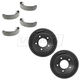 1ABDS00300-1997-03 Ford F150 Truck Brake Kit Pair
