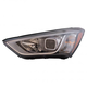 1ALHL02335-2013-14 Hyundai Santa Fe Headlight Driver Side