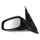 1AMRE03065-Infiniti G25 G37 Mirror Driver Side
