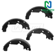 1ABPS00851-Brake Shoes Rear  Nakamoto S780