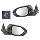 1AMRP01531-2009-13 Mazda 6 Mirror Pair