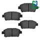 1ABPS00861-Brake Pads Front  Nakamoto CD822