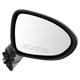 1AMRE03136-2012-14 Kia Rio Rio5 Mirror Passenger Side