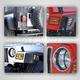RRBHT00003-1997-06 Jeep Wrangler Euro Guard Light Protector Kit  Rugged Ridge 12495.02