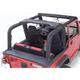 RRRLB00002-1992-95 Jeep Wrangler Full Roll Bar Cover Kit