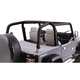 RRRLB00003-1997-02 Jeep Wrangler Full Roll Bar Cover Kit  Rugged Ridge 13612.15