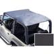 RRCVT00006-Jeep CJ7 Wrangler Roll Bar Top  Rugged Ridge 13554.15