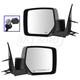 1AMRP01557-2008-12 Jeep Liberty Mirror Pair