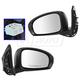 1AMRP01554-2012-15 Scion iQ Mirror Pair