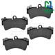 1ABPS00869-Brake Pads Front