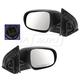 1AMRP01581-2010-11 Hyundai Accent Mirror Pair