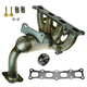 1AEEM00815-Exhaust Manifold with Catalytic Converter Assembly