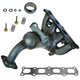 DMEEM00074-Exhaust Manifold with Catalytic Converter Assembly