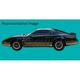 1AXDC00036-1982 Pontiac Firebird Decal & Stripe Kit
