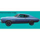 1AXDC00043-1971-72 Chevy Chevelle Decal & Stripe Kit