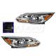 1ALHP01175-2012-14 Ford Focus Headlight Pair