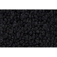 ZAICK20838-1965-73 Jeep J Series Pickup (SJ) Complete Carpet 01-Black