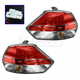 1ALTP00979-2014-16 Nissan Rogue Tail Light Pair