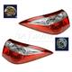1ALTP00980-2014-16 Toyota Corolla Tail Light Pair