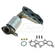 1AEEM00816-Exhaust Manifold with Catalytic Converter Assembly