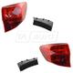 1ALTP00981-2013-15 Acura RDX Tail Light Pair