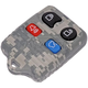 DMKRR00007-Keyless Remote Insert & Case  Dorman 13607GYC