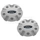FDWHK00005-2000-01 Ford Focus Wheel Center Cap Pair  Ford OEM YS4Z1130BB