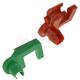 GMDRK00001-Tailgate Handle Rod Clip Pair