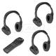 DMZMA00002-Infrared Wireless Headphones & Remote Control