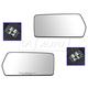 FDMRP00004-Mirror Glass Pair  Ford OEM 4L3Z-17K707-DB  4L3Z-17K707-DA