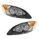 1ALHP01179-2009-17 International ProStar Headlight Pair