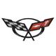 GMBEE00011-Chevy Corvette Emblem  General Motors OEM 19207385