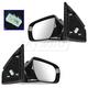 1AMRP01628-2013-16 Hyundai Santa Fe Mirror Pair