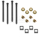 GMDMX00009-Door Hinge Pin & Bushing Kit (4 Pins  8 Bushings  & 4 Clips)