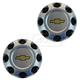 GMWHK00007-Chevy Wheel Center Cap Pair