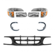 1ABGK00011-1997-01 Ford Explorer Grille  Headlights & Corner Lights Kit